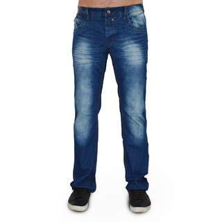 Dinamit Men's Five Pocket Blue Denim Classic Jeans