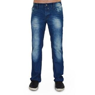 Dinamit Men's Five Pocket Blue Denim Classic Jeans