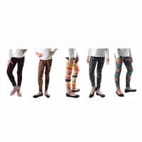 Tropical Fun 2 Printed Spandex Legging (Pack of 5)