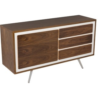 Safavieh Couture High Line Collection Kiet Walnut Wood Buffet/ Sideboard