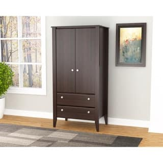 Living Room Armoires & Wardrobe Closets For Less | Overstock.com