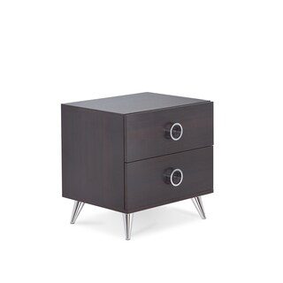 Acme Furniture Elms Contemporary Multicolor 2-drawer Nightstand (3 options available)