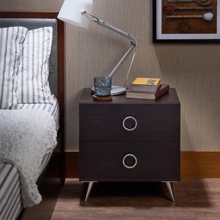 Carson Carrington Rjukan Contemporary Multicolor 2-drawer Nightstand