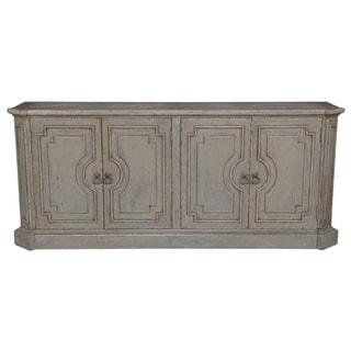 Kosas Home Andrea 4-door Antique Grey Pine Sideboard