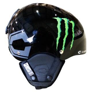 Capix Snow Shorty Monster Black/ Green Snowboarding Helmet