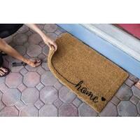 Handwoven Coconut Fiber Home Doormat
