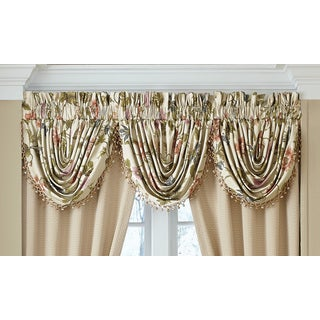 Croscill Daphne Waterfall Window Swag Valance