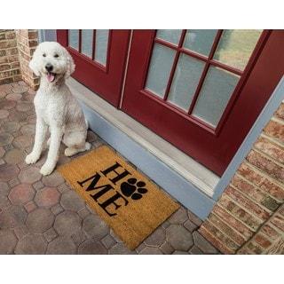 Pet Home Non-slip Coir Doormat