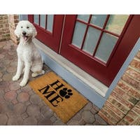 Pet Home Non-slip Coir Doormat