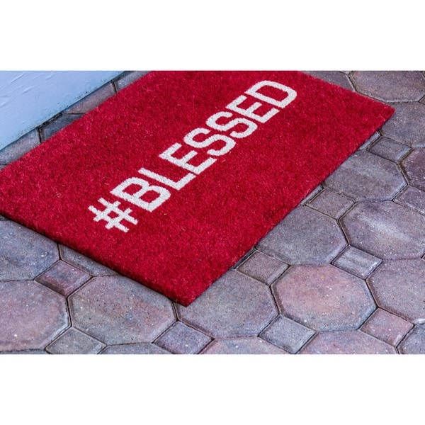 Blessed Coir Non-slip Doormat