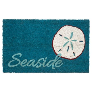 Coir 'Seaside' Non-slip Doormat