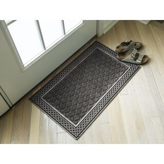 Silver and Grey Weather Beater Polypropylene Mat (18 x 30)