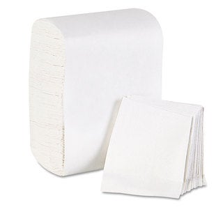 Georgia Pacific Professional Low Fold Dispenser Napkins 7 x 12 White 8000/Carton