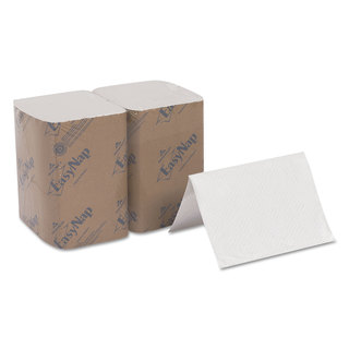 Georgia Pacific Professional EasyNap Embossed Dispenser Napkins 2Ply 6 1/2x9 7/8 White 500/Pack 6 Pack/Carton