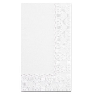 Hoffmaster Dinner Napkins 2-Ply 15 x 17 White 1000/Carton