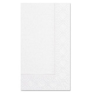 Hoffmaster Dinner Napkins 2-Ply 15 x 17 White 1000/Carton