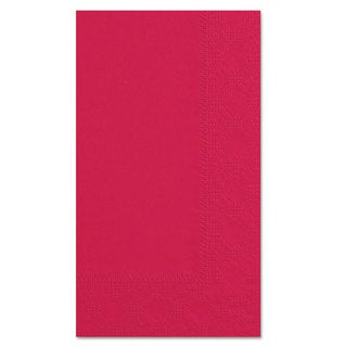 Hoffmaster Dinner Napkins 2-Ply 15 x 17 Red 1000/Carton