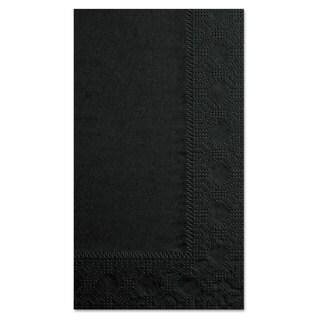 Hoffmaster Dinner Napkins 2-Ply 15 x 17 Black 1000/Carton