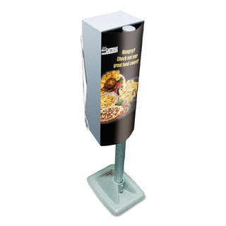 Scott Mega Cartridge Napkin System Dispenser 8 3/4 x 6 3/8 x 23 1/4 Grey