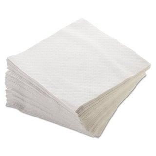 Morcon Paper Dinner Napkins 1-Ply 17 x 17 White 250/Pack 16 Packs/Carton