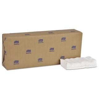 Tork Advanced Soft Dinner Napkins 2-Ply 15x16 1/4 1/8 Fold,Bag-Pac,White 3000/Carton