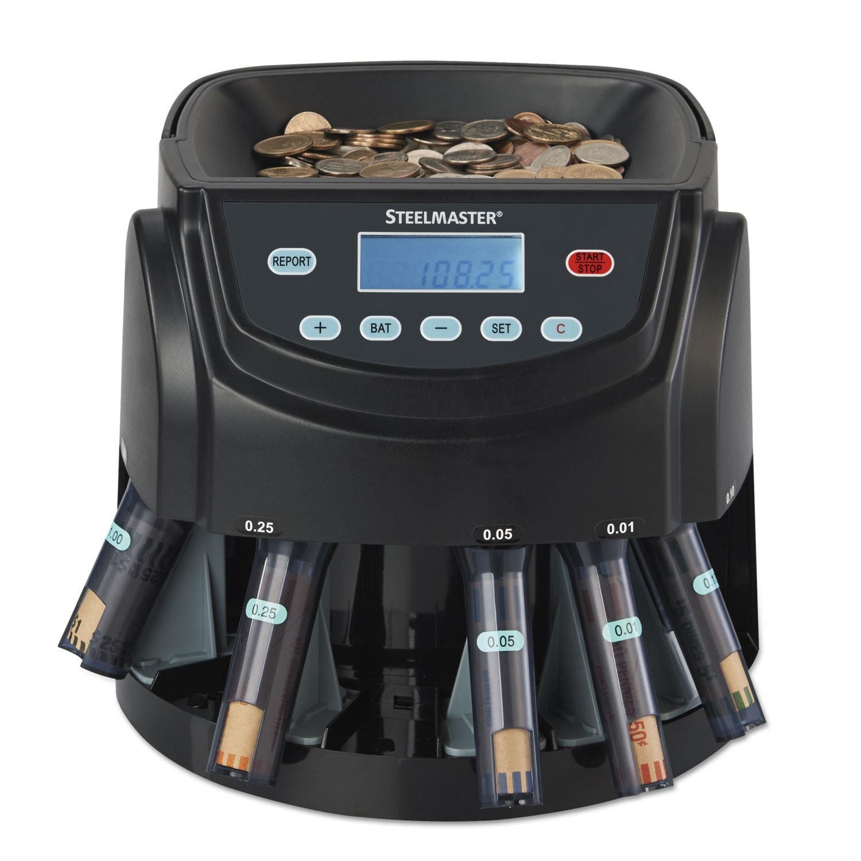 Steelmaster Coin Counter/Sorter Pennies through Dollar Co...