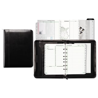 Day-Timer Aristo Bonded Leather Starter Set 5 1/2 x 8 1/2 Black
