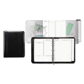 Day-Timer Aristo Bonded Leather Starter Set 8 1/2 x 11 Black