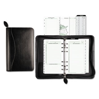 Link to Day-Timer Recycled Bonded Leather Starter Set, 8 4/5 x 5 1/2 x 1 1/2, White Similar Items in Planners & Accessories