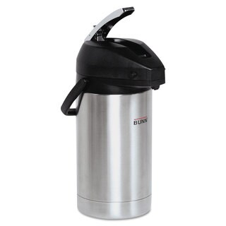 BUNN 3 Liter Lever Action Airpot Stainless Steel/Black
