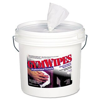 2XL Gym Wipes 6 x 8 Unscented 700/Bucket 2 Buckets/Carton