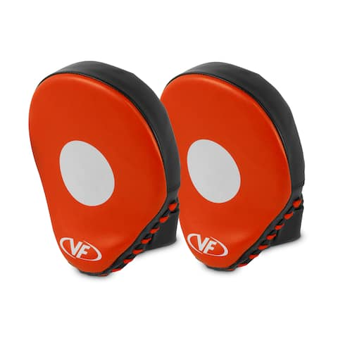 Valor Fitness VB-HP-1 Punching Mitts and Target Focus for Boxing and MMA Training