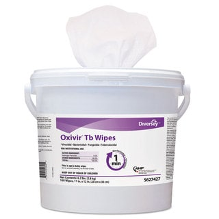 Diversey Oxivir TB Disinfectant Wipes 11 x 12 White 160/Bucket 4 Bucket/Carton