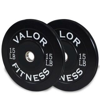 Valor Fitness BP-15 10lb Bumper Plate (2)