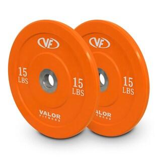 Valor Fitness BPX-15 10lb Bumper Plate X (Set of 2)