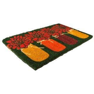 Mums Coconut Fiber Handwoven Doormat