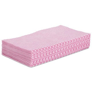 Boardwalk Foodservice Wipers Pink/White 12 x 21 200/Carton