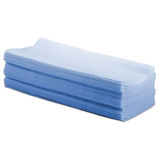 Boardwalk Hydrospun Wipers Blue 9 x 16 3/4 1000/Carton