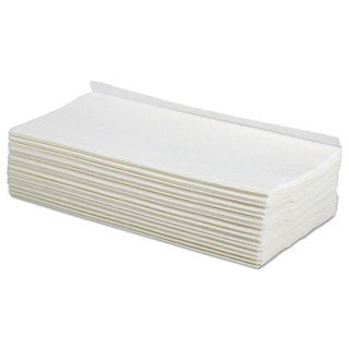 Boardwalk TAD Wipers 1-Ply White 9 x 12 3/4 2250/Carton