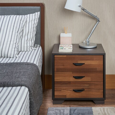 Palm Canyon Alejo Multicolored 3-drawer Nightstand