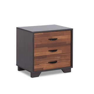 Acme Furniture Eloy Multicolored 3-drawer Nightstand (2 options available)