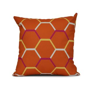 Cool Shades Geometric Print Pillow