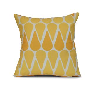 Watermelon Seeds Geometric Print Pillow (More options available)