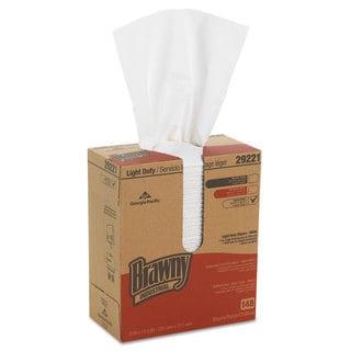 Georgia Pacific Professional Light-Duty Paper Wipers 8 x 12 1/2 White 148/Box 20 Boxes/Carton