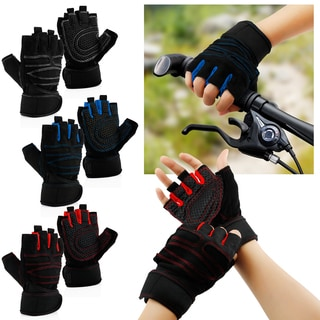 Gearonic Workout Gym Half Finger Gloves Exercise Training Fitness