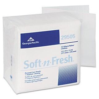 Georgia Pacific Soft-n-Fresh Airlaid Wipers 12 1/2 x 13 990/Carton