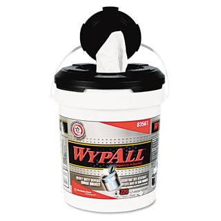 WypAll Wipers in a Refillable Bucket 10 x 13 220/Bucket