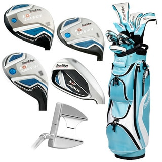 Tour Edge Hot Launch Full Set Ladies Light Blue