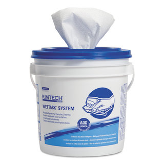 Kimtech Wipers Disinfectant/ Sanitizing White 12 x 12 1/2-inch 90 Roll (Pack of 6)