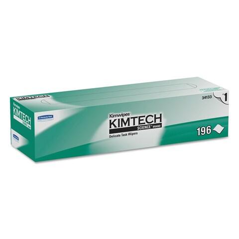 Kimtech KIMWIPES Delicate Task Wipers 11 4/5 x 11 4/5 196/Box 15 Boxes/Carton